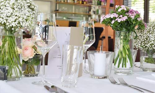 Ihre Feier im Restaurant Cristall